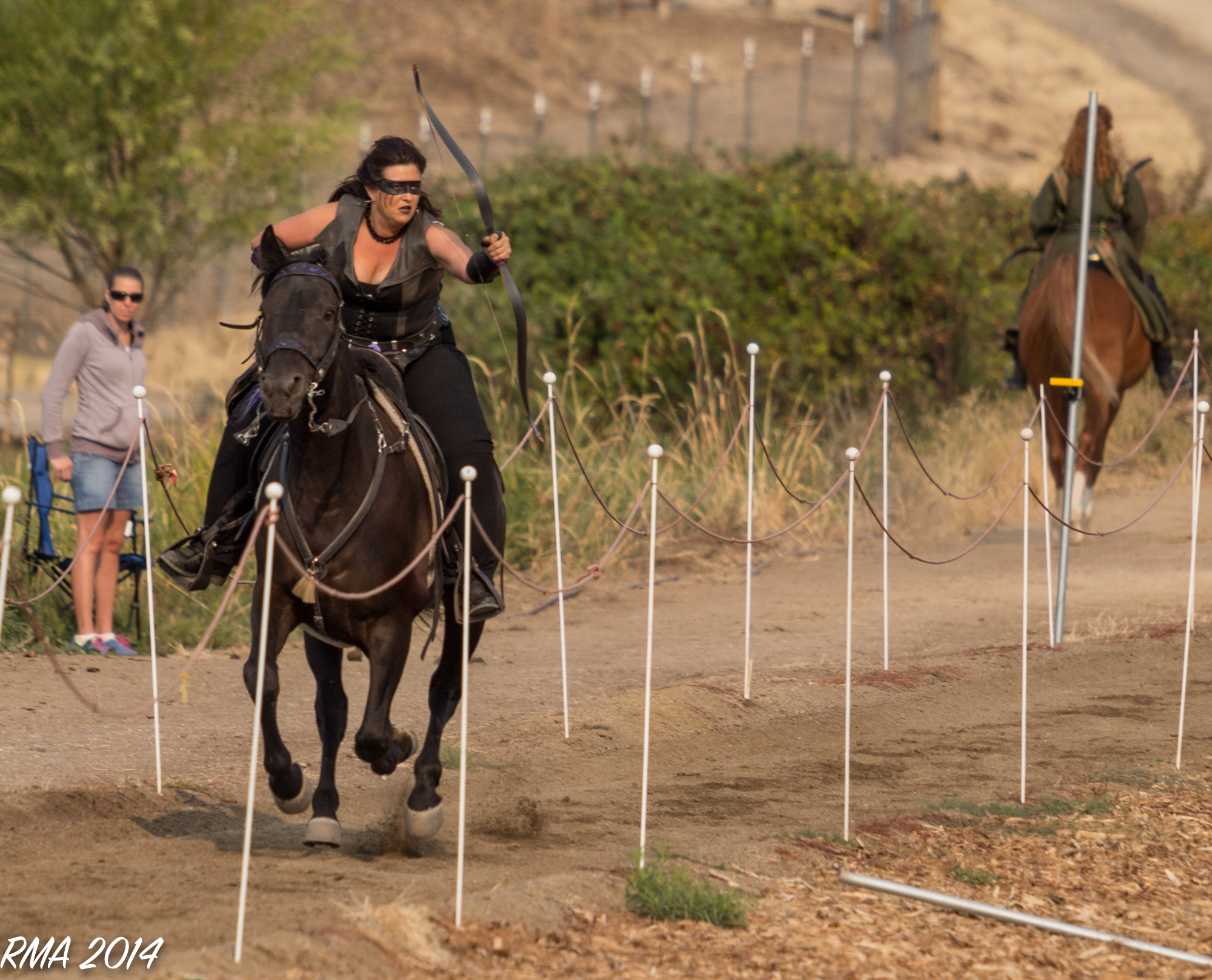 Horse Archery Roberta Beene