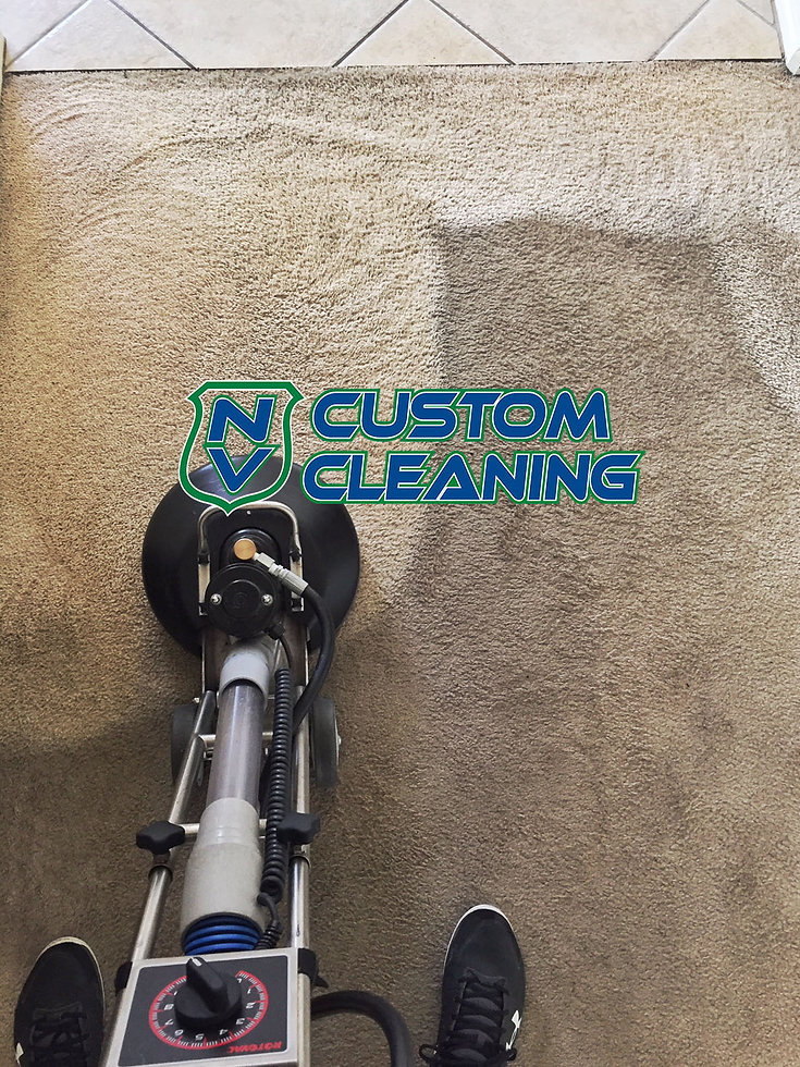 NV CUSTOM CLEANING - roto vac carpet cle