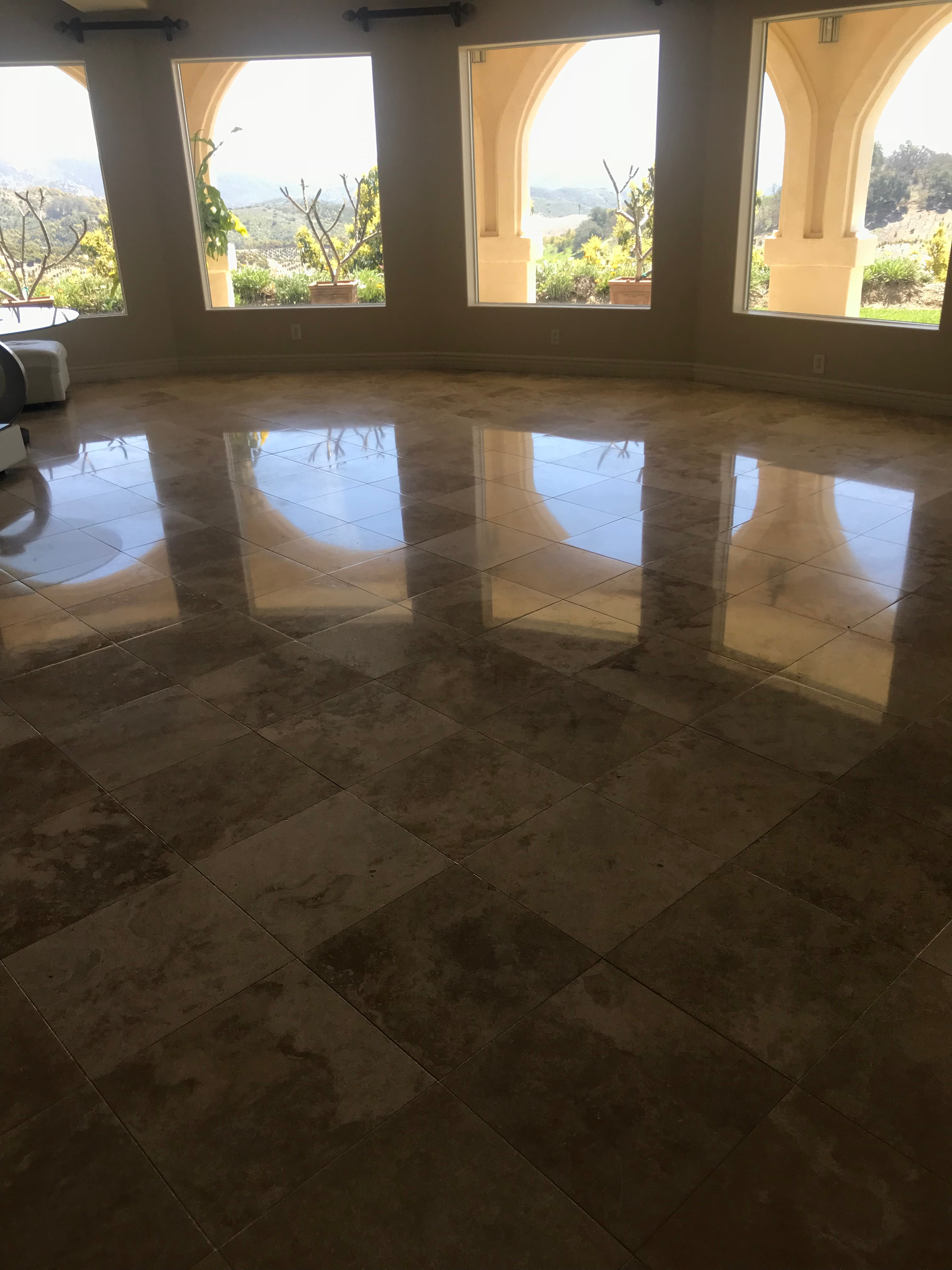 Natural Stone Cleaning & Polishing