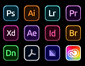 30 Adobe Product & App Icon Sets (2021 U