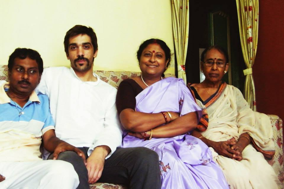 With my indian familly