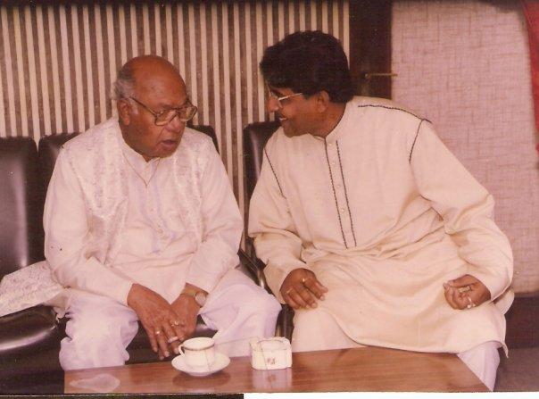 Pt Alok Lahiri & Ustad AliAkbar Khan