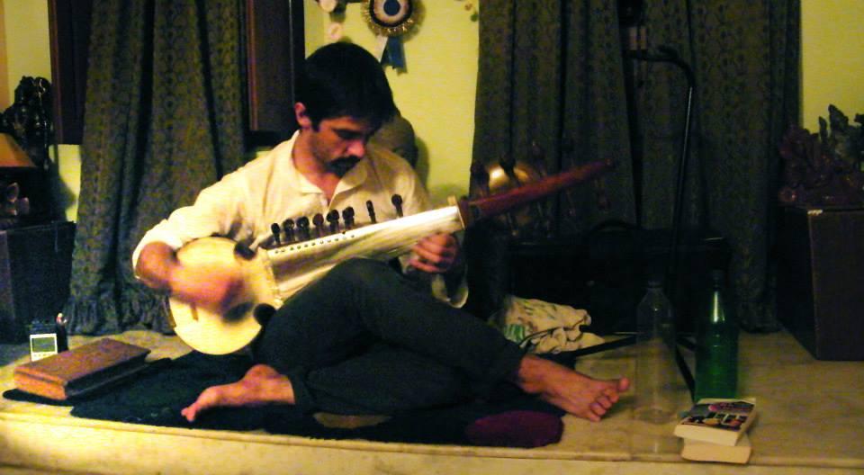 Sarod practice