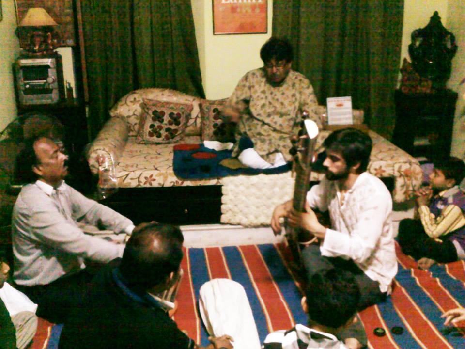 Taking lessons from my Guruji