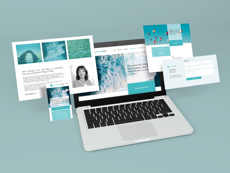 Perspektivenstark // Webauftritt