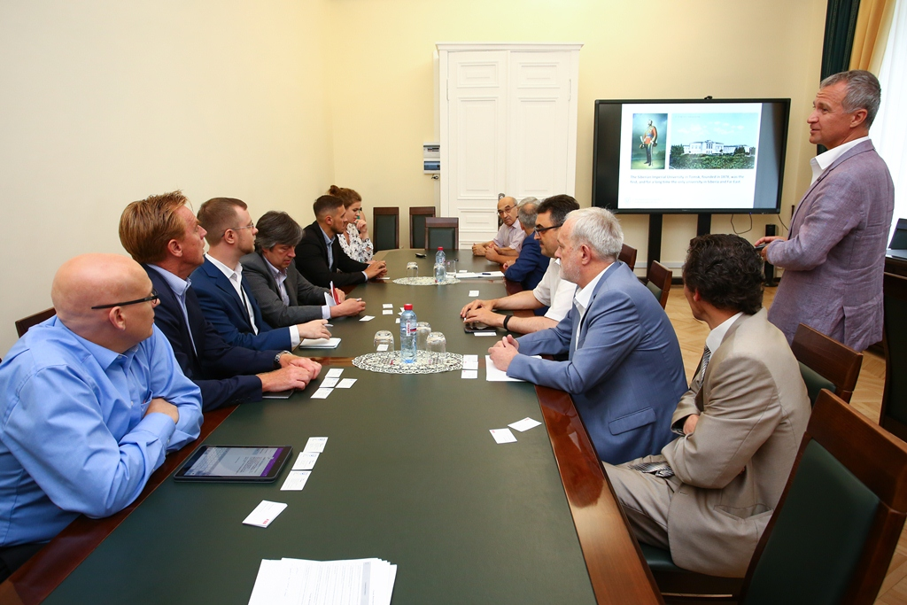 Meeting in TSU.