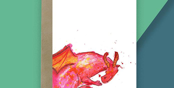 Dragon Blank Card