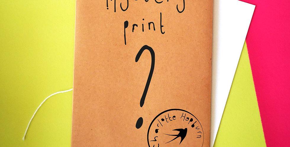A6 Illustration Mystery Print