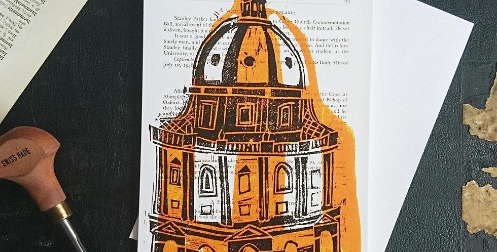Oxford Radcliffe Camera Blank Card