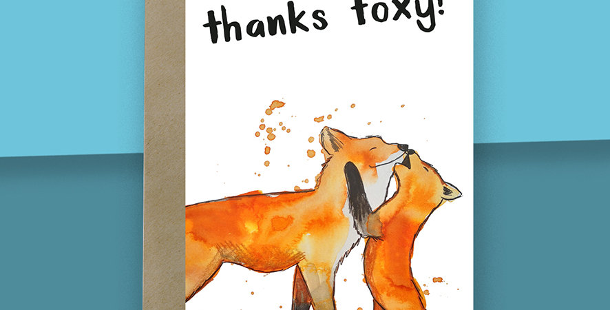 Thanks Foxy Card
