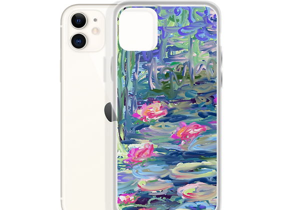 """""""Water Lily"""" 00.8 iPhone Case"""