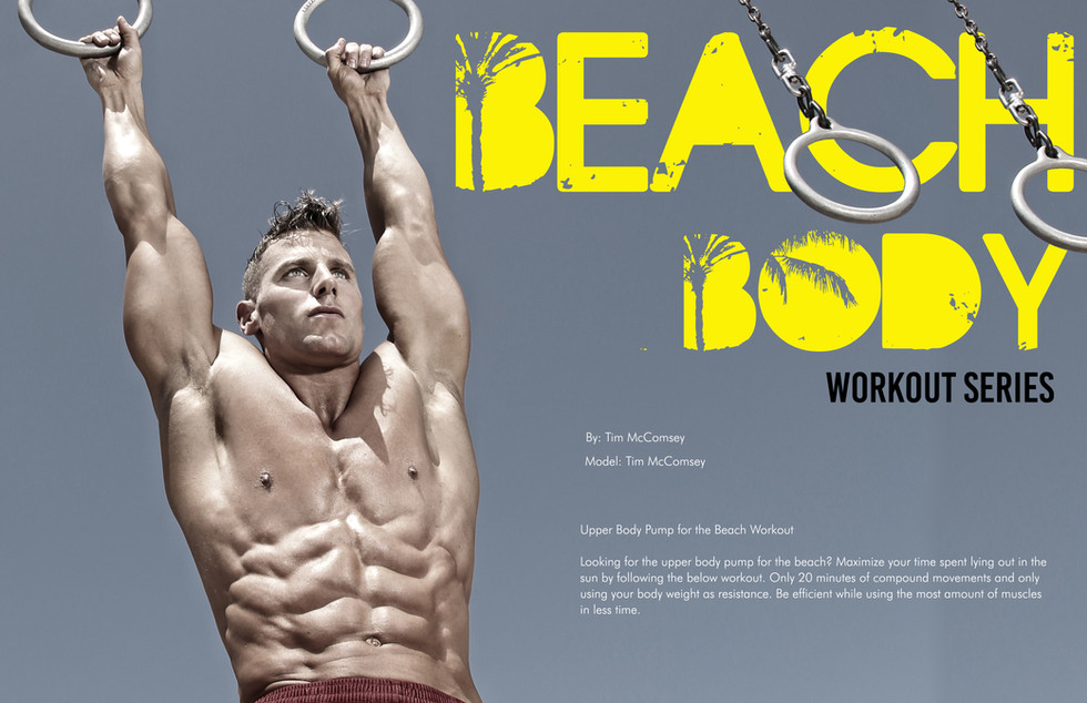 Beach BODY Workout Series by Tim McComsey