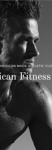 Model for american fitness wear