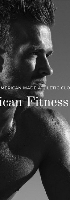 Model for american fitness wear