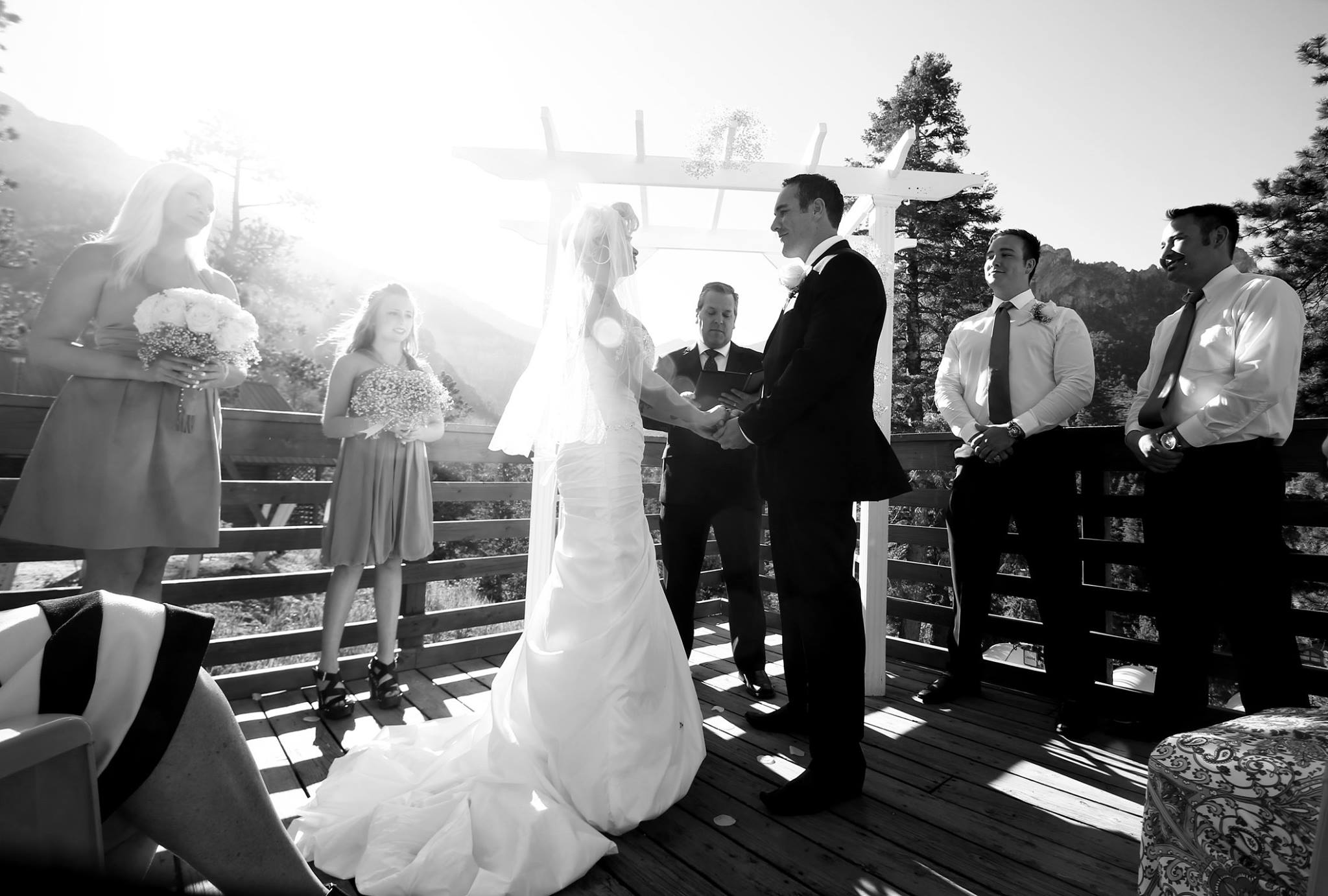 budget wedding photo shoot