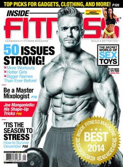 Inside Fitness magazine cover