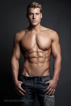 image of really good looking model