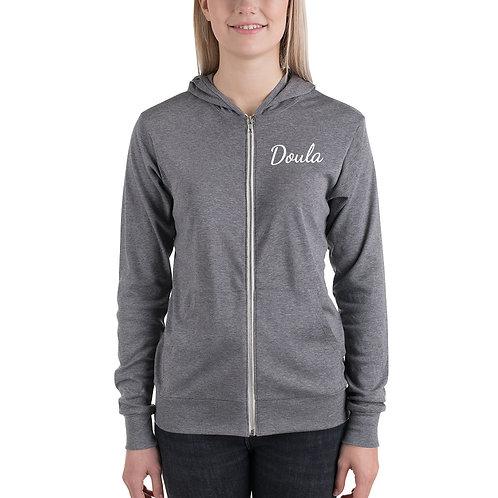 Doula zip hoodie