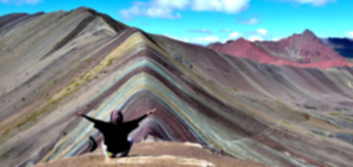 Mountain Rainbow - Cusco