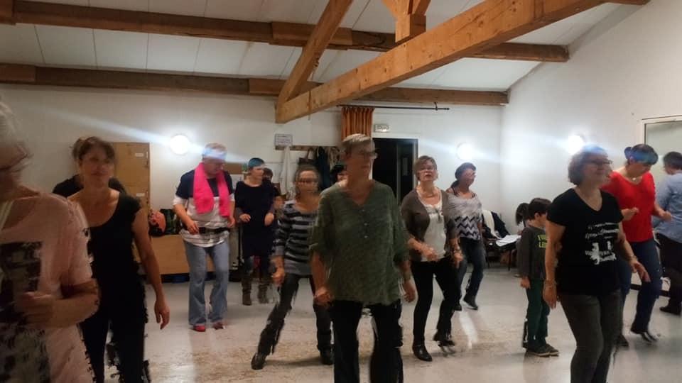 un autre cours... de dance country