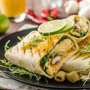 Chapati Cheese Burrito: The Indie Mexican Delight