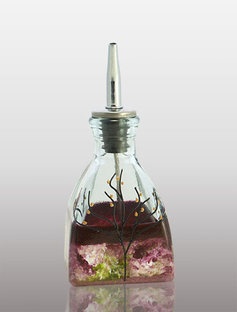 small secret garden oil cruet