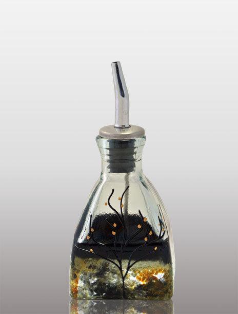Small Oil or Vinegar Cruet - Forest Glen
