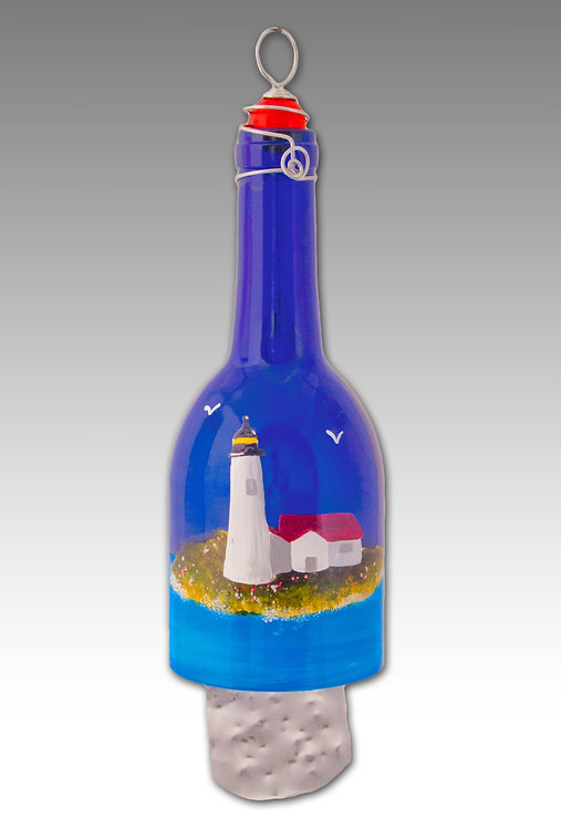 wind chime with lighthouse