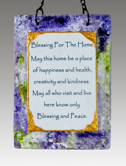 Small Home Blessing - Lavender Field