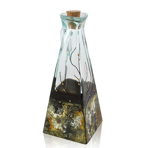 Large Oil or Vinegar Cruet - Forest Glen