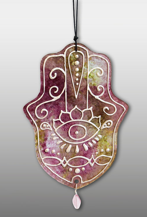 Hanging Hamsa Wall Art Protection for Home Office
