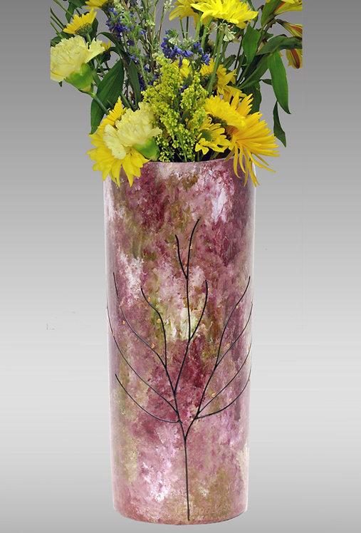 secret garden flower vase