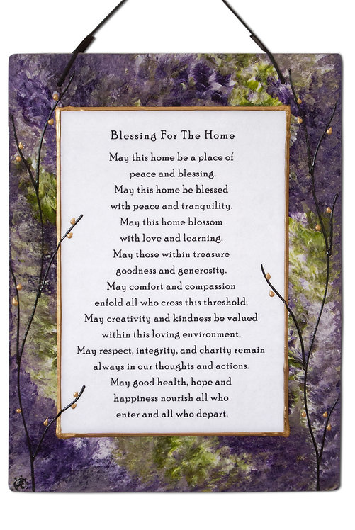 Large Home Blessing - Lavender Field