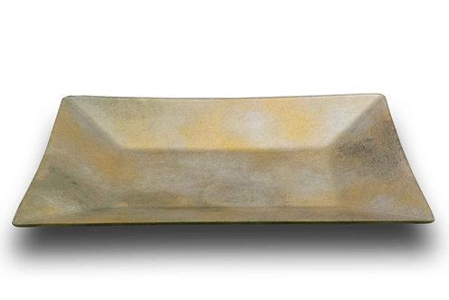 Boat Platter Silver Gold