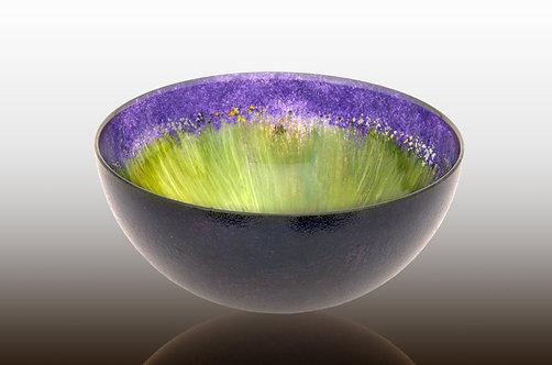 blueberry purple large bowl
