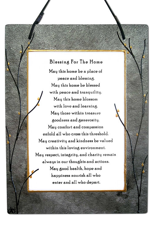 Large Home Blessing - in Variety of Colors