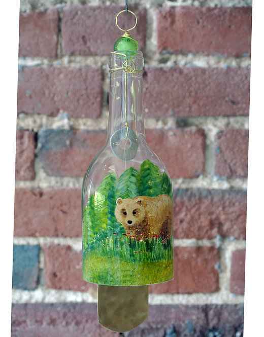 Wind Chime - Brown Bear
