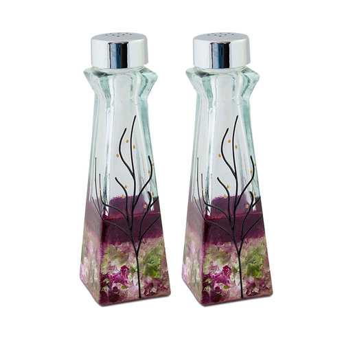 Large Salt & Pepper Shakers - Secret Garden