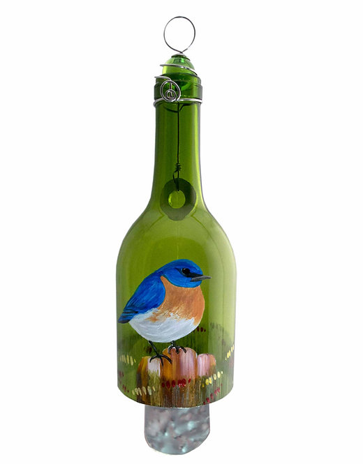Wind Chime - Blue Bird