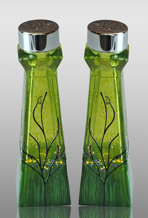 large salt and pepper shakers lemon lime