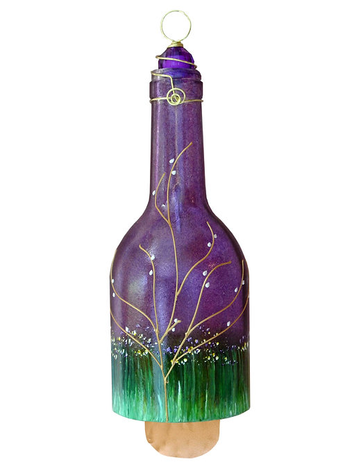 Wind Chime - Blueberry Purple Large