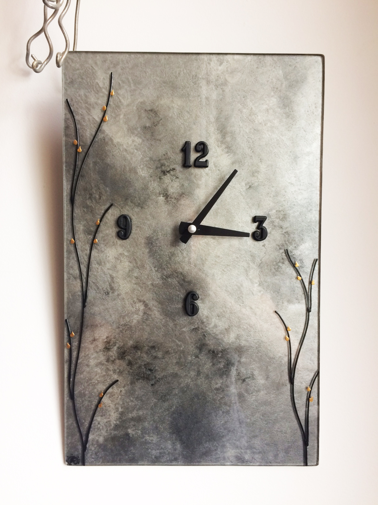 Modern Clock with Custom Details
