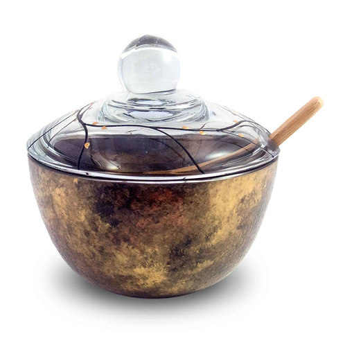 Lidded Bowl - Celebration