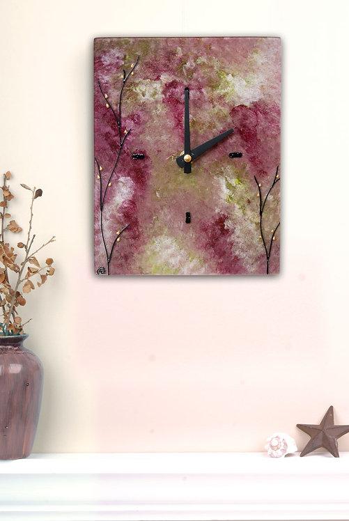 secret garden clock