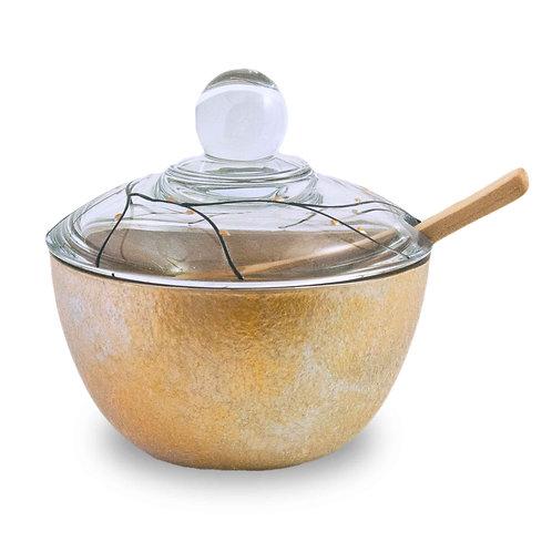 Lidded Bowl - Royal