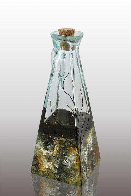 Large Oil or Vinegar Cruet - Forest Glen