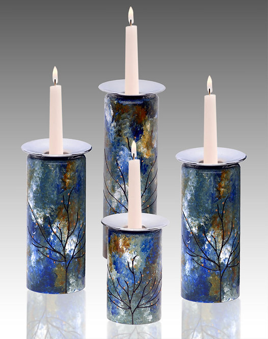 ocean breeze candle holders