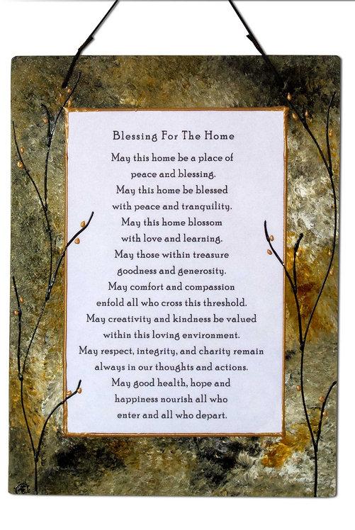 Large Home Blessing - Forest Glen