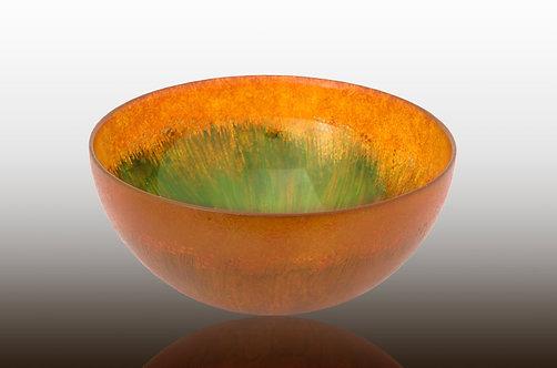 honey amber large bowl