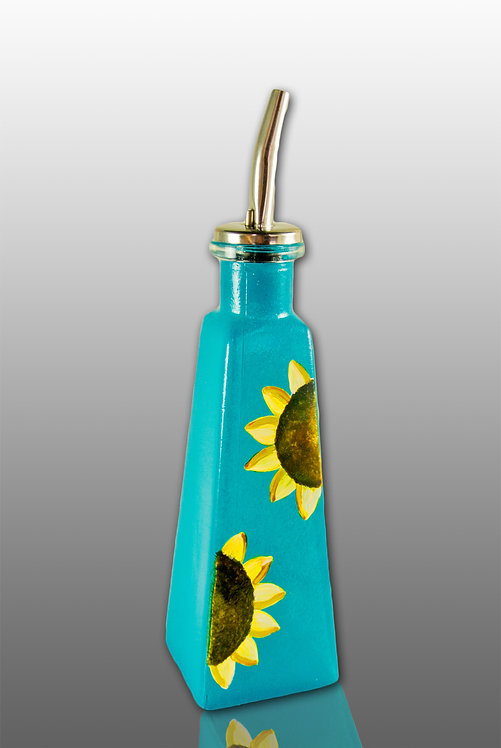 Pyramid Oil Cruet - Sunflower